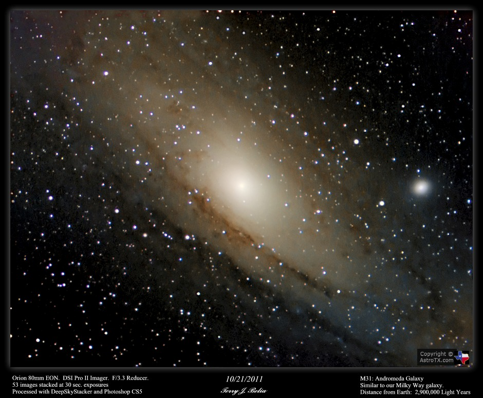 the distance to andromeda The andromeda galaxy is the most distant object in the sky that you can see with your unaided eye it's also on a collision course with our milky way.